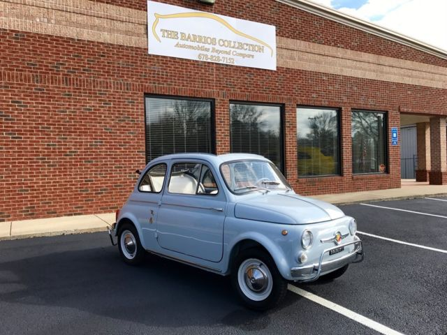 1963 Fiat 500 D Transformable Full Convertible being Auctioned at ...
