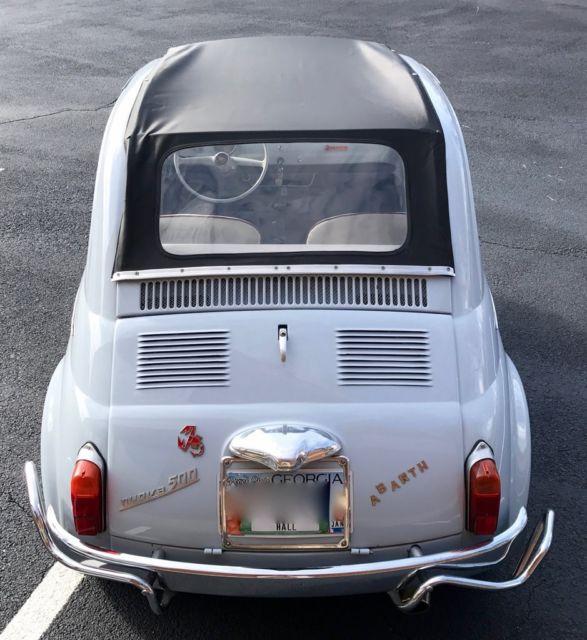1963 Fiat 500 (Blue/White