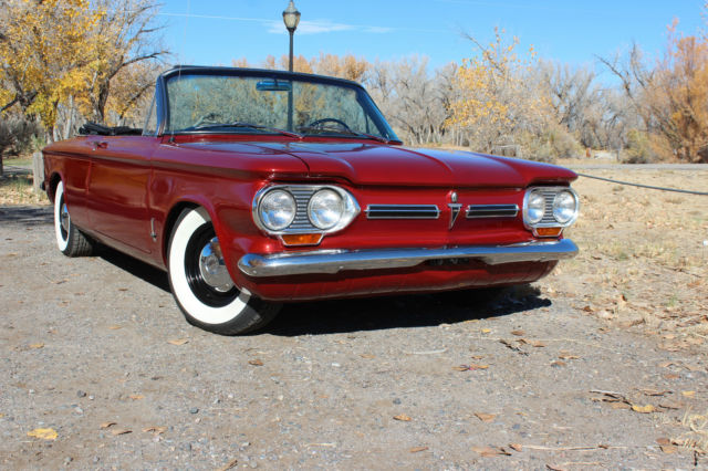 1963 Chevrolet Corvair (Red/Black)