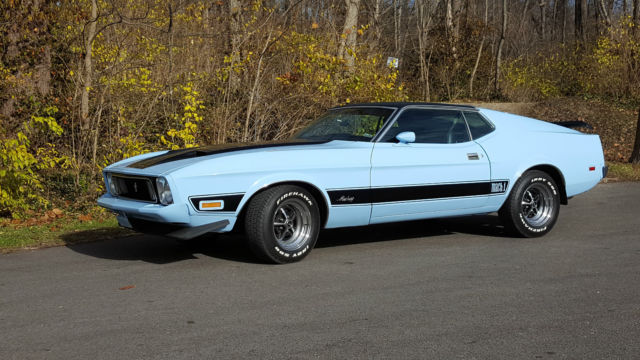 1973 Ford Mustang (Blue/Black)