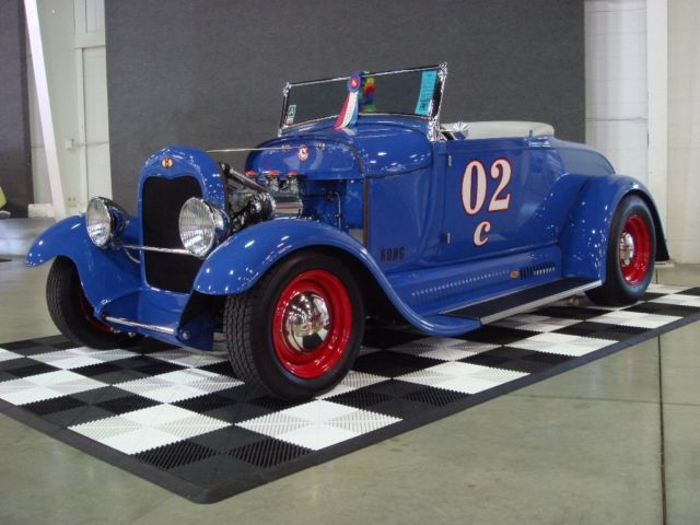 1929 Ford Model A (Blue/Gray)
