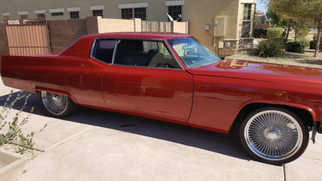 1969 Cadillac DeVille (UNFINISHED/Red)