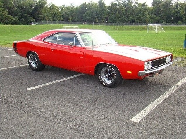 1969 Dodge Charger (Red/Black)