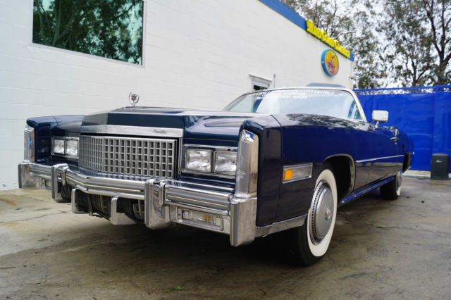 1975 Cadillac Eldorado (Commodore Blue Metallic/Antique Dark Blue)
