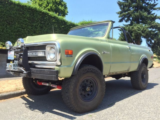 1972 Chevrolet Blazer (Green/Black)