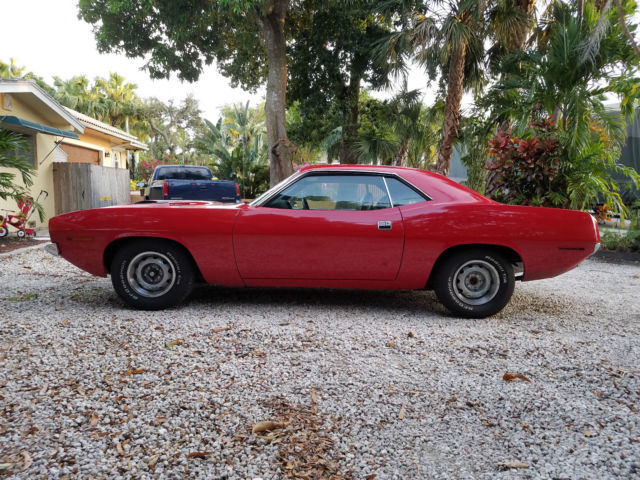 1970 Plymouth Barracuda (Red/Black)