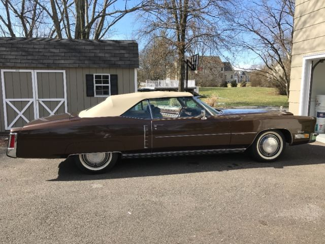 1972 Cadillac Eldorado (Brown/Tan)