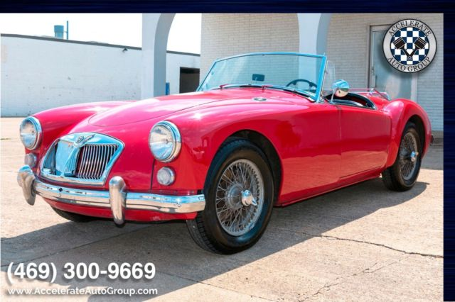 1962 MG MGA (Red/Black)