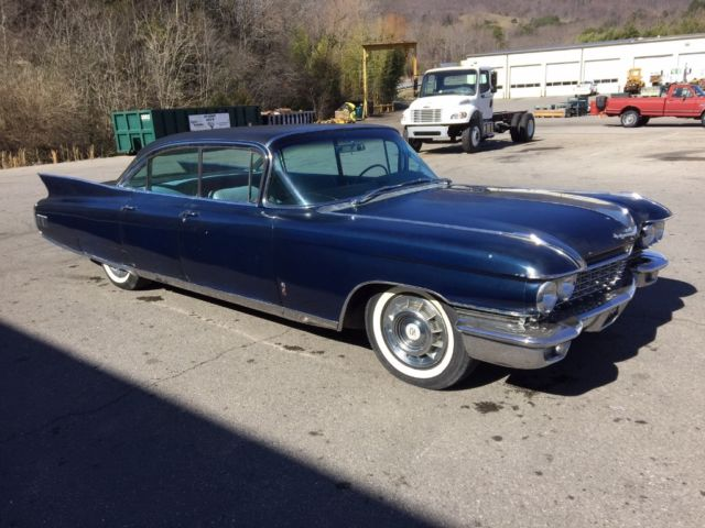 Seller of Classic Cars - 1960 Cadillac Fleetwood (Blue/Blue)