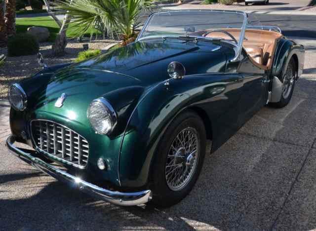 Seller Of Classic Cars 1959 Triumph Tr3 Greentan