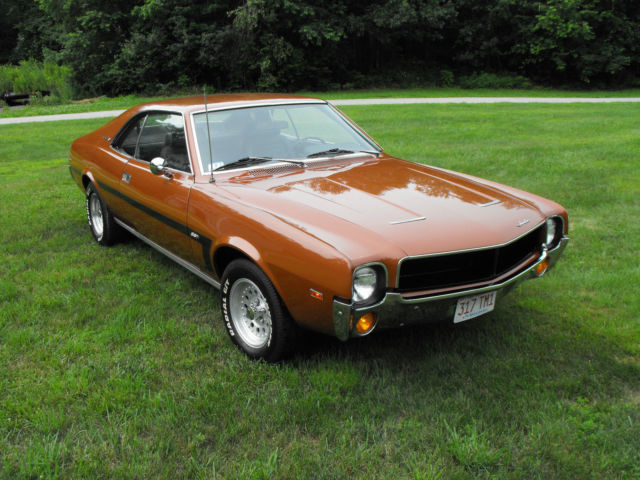 1969 AMC Javelin (Bittersweet Orange (Gold)/Black)