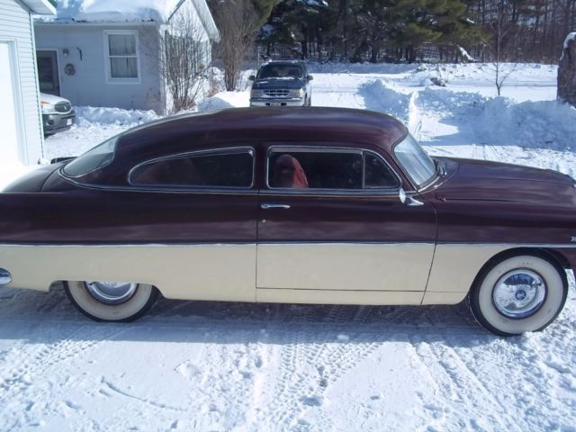 1954 Hudson Wasp Brougham Coupe (Burgundy/Burgundy)