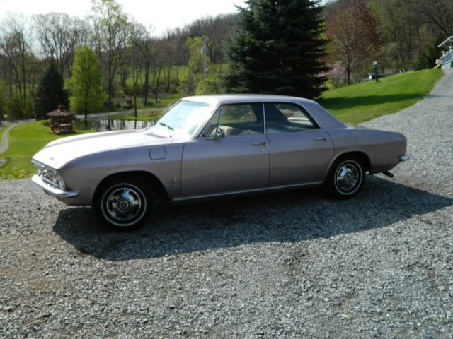 1965 Chevrolet Corvair (Evening Orchid/Black)