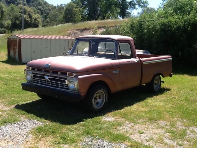 1966 Ford F-100 (COPPER/TAN)