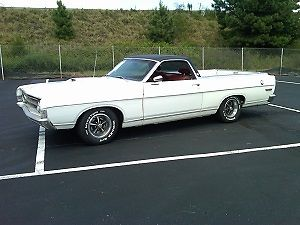 1969 Ford Ranchero (White/--)