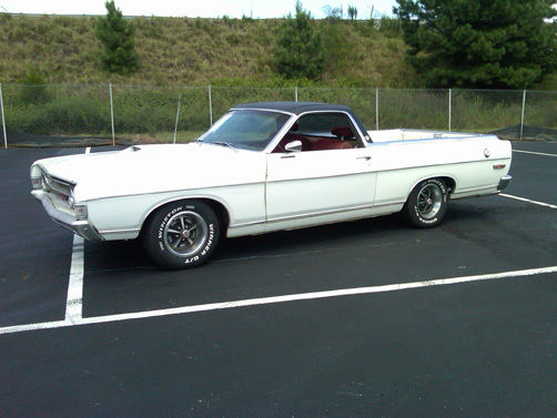 Seller Of Classic Cars 1969 Ford Ranchero White