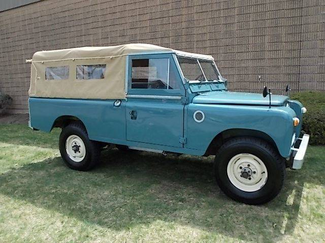 1959 Land Rover 109 Long Wheel Base (Green/Gray)
