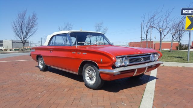 1962 Buick Skylark (Red/White)