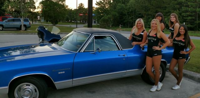 1972 Chevrolet El Camino (Blue/Black)