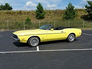 1971 Ford Mustang (Yellow/--)