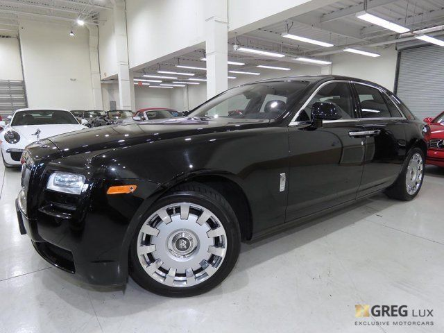 2014 Rolls-Royce Ghost (Obsidian/Black)