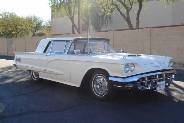 Seller Of Classic Cars 1960 Ford Thunderbird Whiteblack