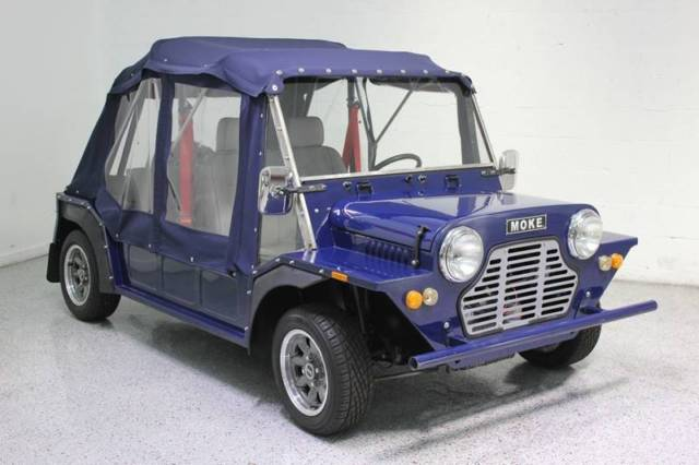 1967 Austin Mini (Blue/Gray)
