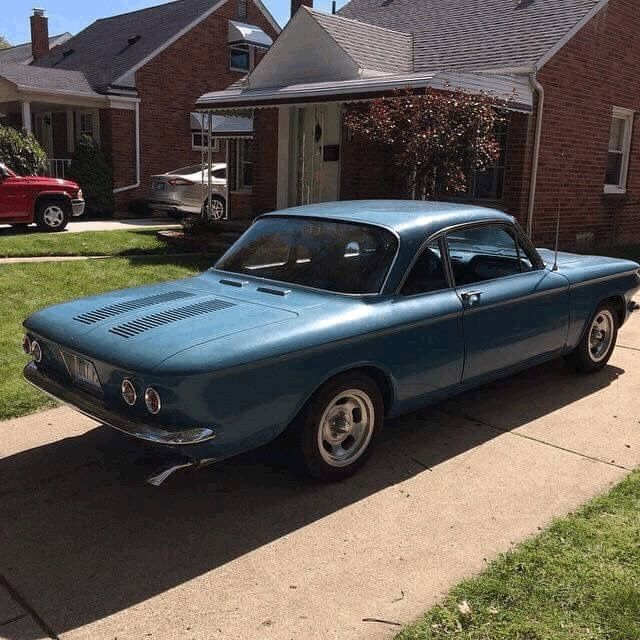 1963 Chevrolet Corvair (Blue/Black)