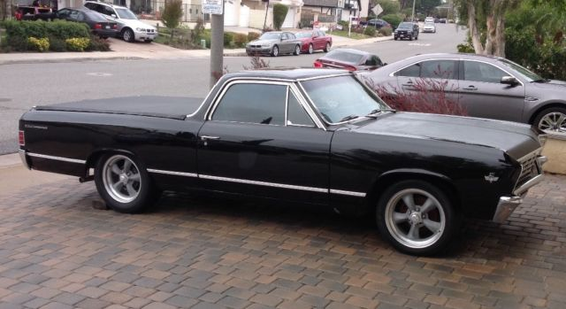 1967 Chevrolet El Camino (Black/Red)