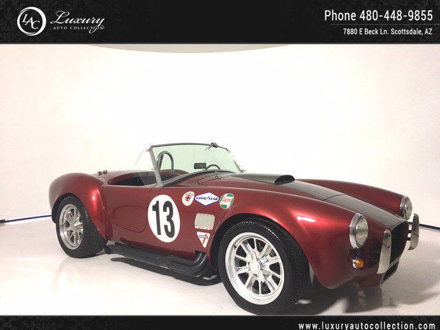 1965 Shelby Cobra (Maroon/Black)