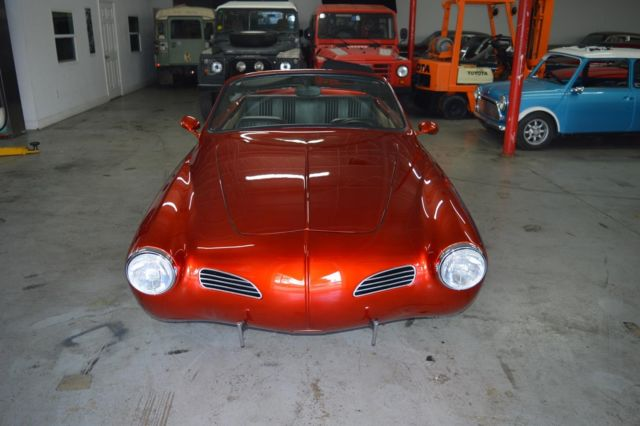 1969 Volkswagen Karmann Ghia (Orange/Black)