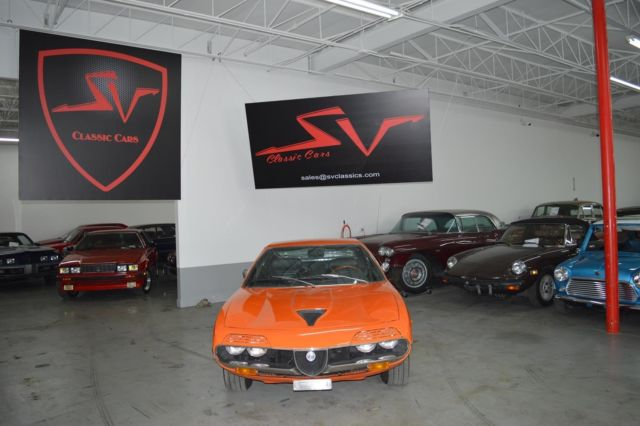 1974 Alfa Romeo Montreal (Orange/Black)
