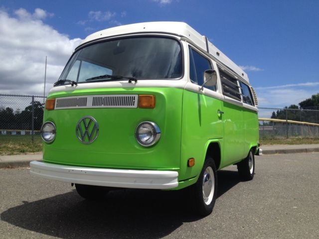 1979 Volkswagen Bus/Vanagon (Green/Brown)
