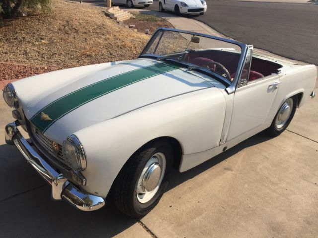 1967 Austin Healey Sprite (White/Red)