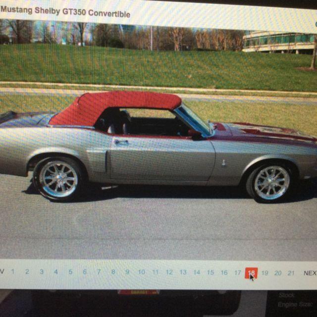 Black Mustang Silvers: 1970 Ford Mustang (Silver/Maroon
