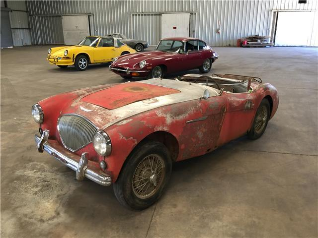 1955 Austin Healey 100-4 (Red/Black)