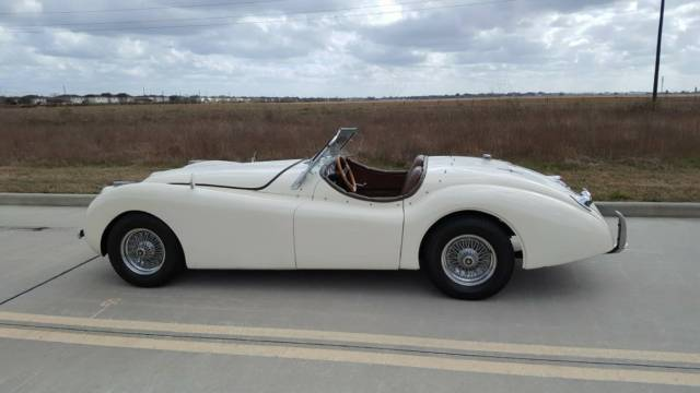 1951 Jaguar XK (White/Brown)