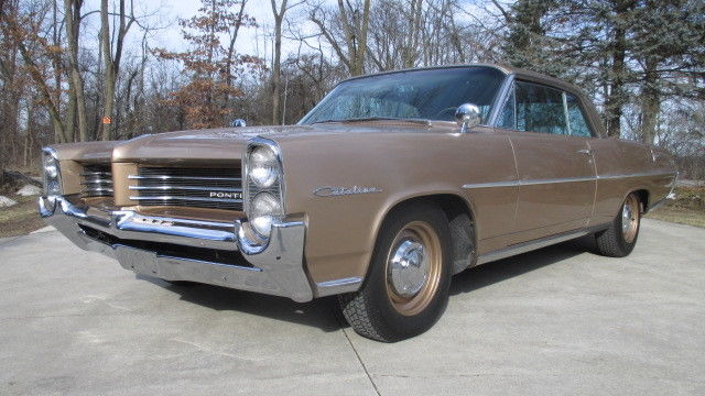 1964 Pontiac Catalina (Signal Orange/Brown)