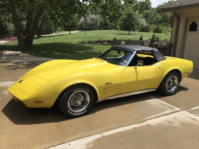 1973 Chevrolet Corvette (Yellow/Black)