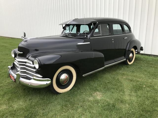 1947 Chevrolet Stylemaster (Black/Tan)