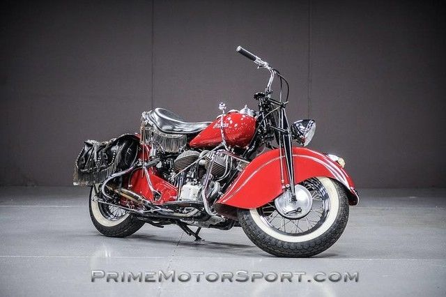 1946 Indian Chief Black Hawk (Red/--)