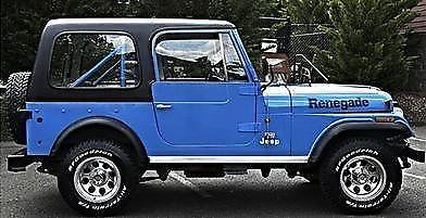 1978 Jeep CJ (Blue/Blue)