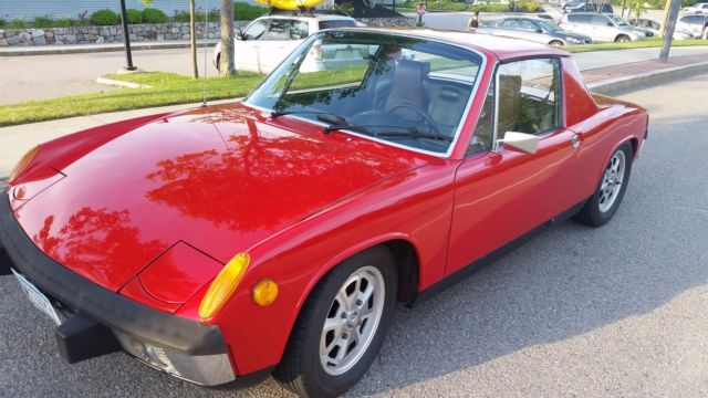 1973 Porsche 914 (Bahia Red/Black)