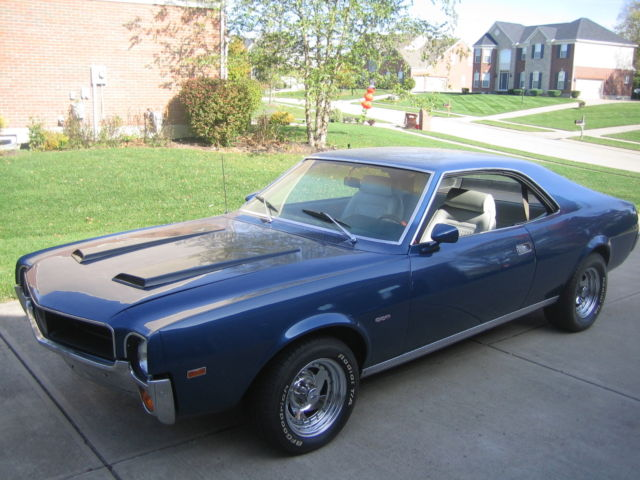 1969 AMC Javelin (Blue/Gray)