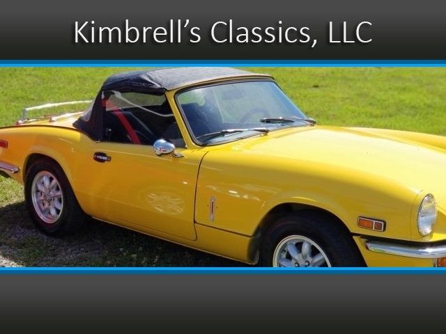 1979 Triumph Spitfire (Yellow/Black)