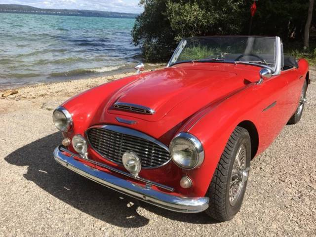 1961 Austin Healey 3000 Mk I (Red/Black)
