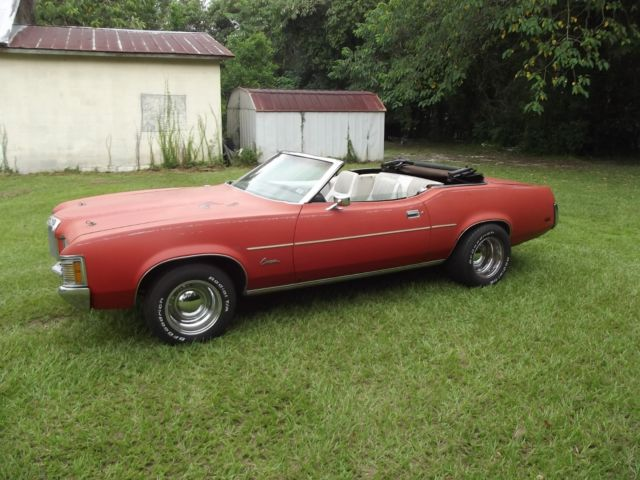 1971 Mercury Cougar (Red/White)