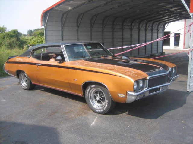 1971 Buick Skylark (Copper/Black/Copper/Black)