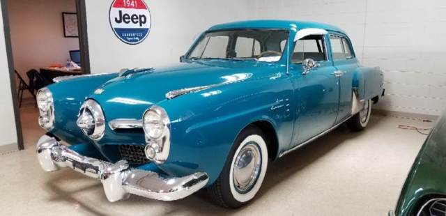 1950 Studebaker Champion (Teal/Gray)