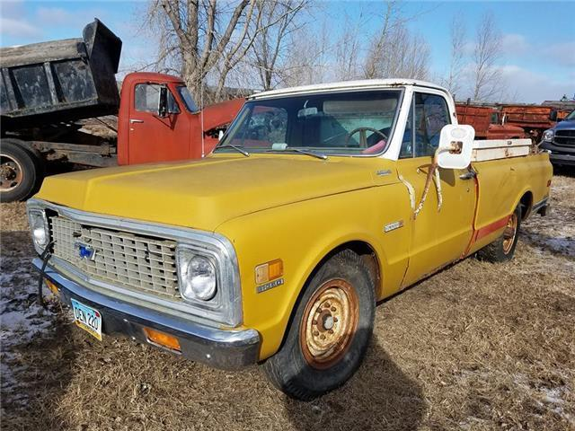 1971 Chevrolet Cheyenne (Yellow/--)